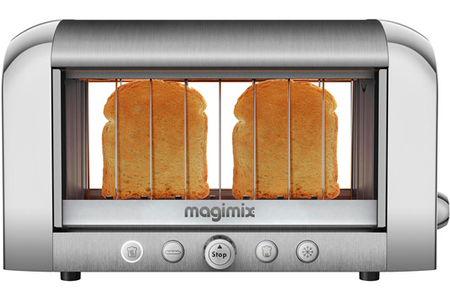 grille pain magimix 11538 vision chrome darty. Black Bedroom Furniture Sets. Home Design Ideas