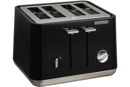 grille pain morphy richards m240002ee noir m240002ee darty. Black Bedroom Furniture Sets. Home Design Ideas