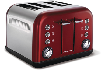 Grille pain M242004EE ROUGE Morphy Richards
