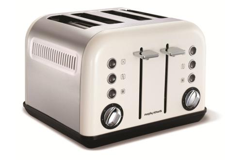 grille pain morphy richards m242005ee blanc. Black Bedroom Furniture Sets. Home Design Ideas