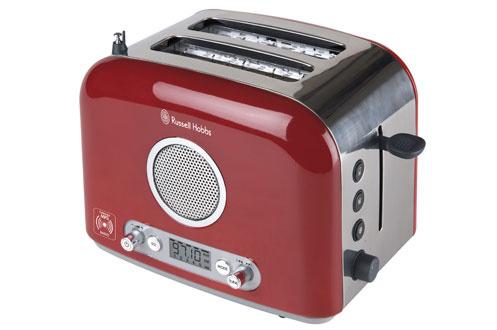 Russell Hobbs 15141-56 RADIO MP3 ROUGE