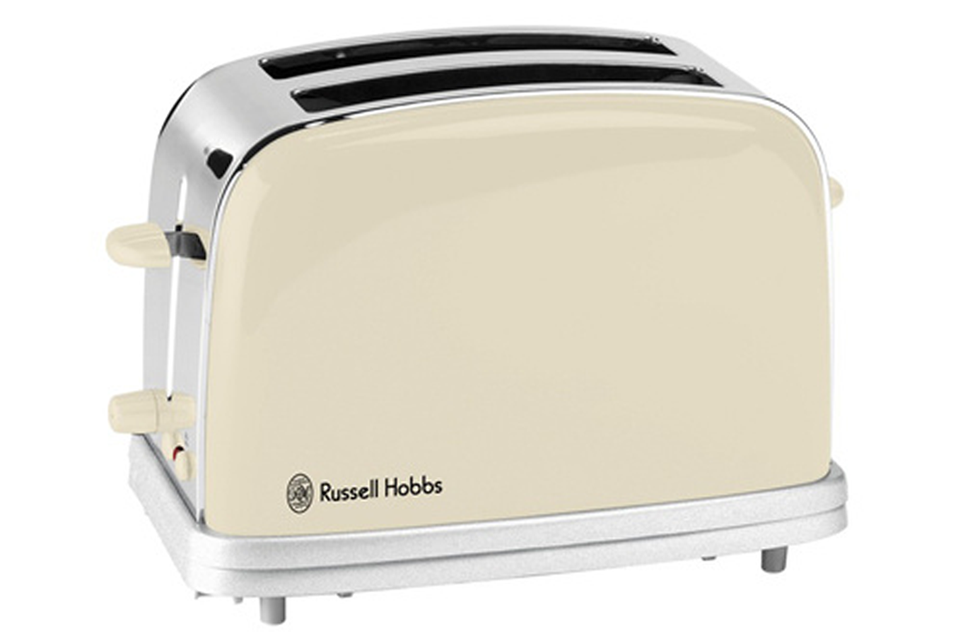 grille pain russell hobbs 18010 56 toaster creme 18010 56 toast creme 3201180 darty. Black Bedroom Furniture Sets. Home Design Ideas