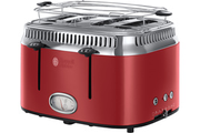 Grille pain Russell Hobbs RETRO 21690-56 4 FENTES ROUGE RUBAN INTENSE