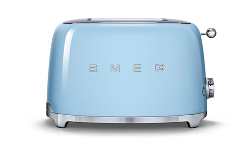 grille pain smeg tsf01pbeu bleu azur tsf01pbeu 4064712. Black Bedroom Furniture Sets. Home Design Ideas