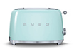 grille pain smeg tsf01pgeu vert d 39 eau tsf01pgeu darty. Black Bedroom Furniture Sets. Home Design Ideas