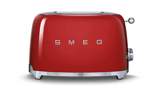 grille pain smeg tsf01rdeu rouge tsf01rdeu 4065026. Black Bedroom Furniture Sets. Home Design Ideas