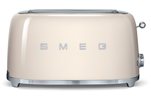 grille pain smeg tsf02creu creme tsf02creu darty. Black Bedroom Furniture Sets. Home Design Ideas