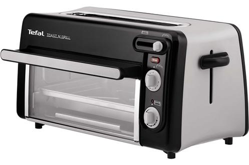 Avis clients pour le produit grille pain tefal tl600830 toast 39 n grill - Mini four chez darty ...