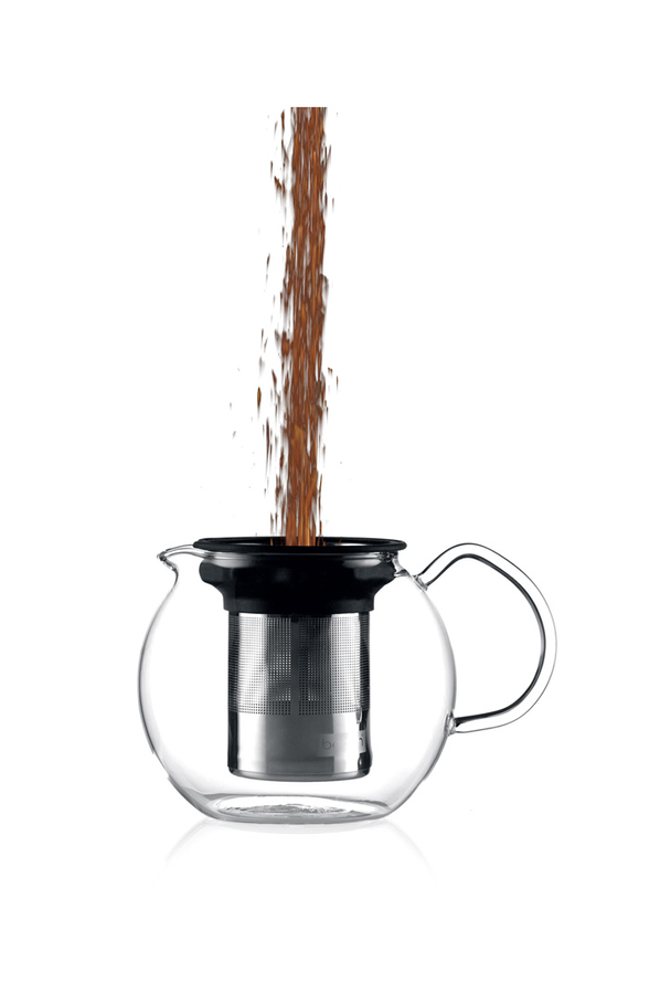 Th i re bodum theiere verre 1l 4174119 darty - Theiere bodum assam 1 litre ...