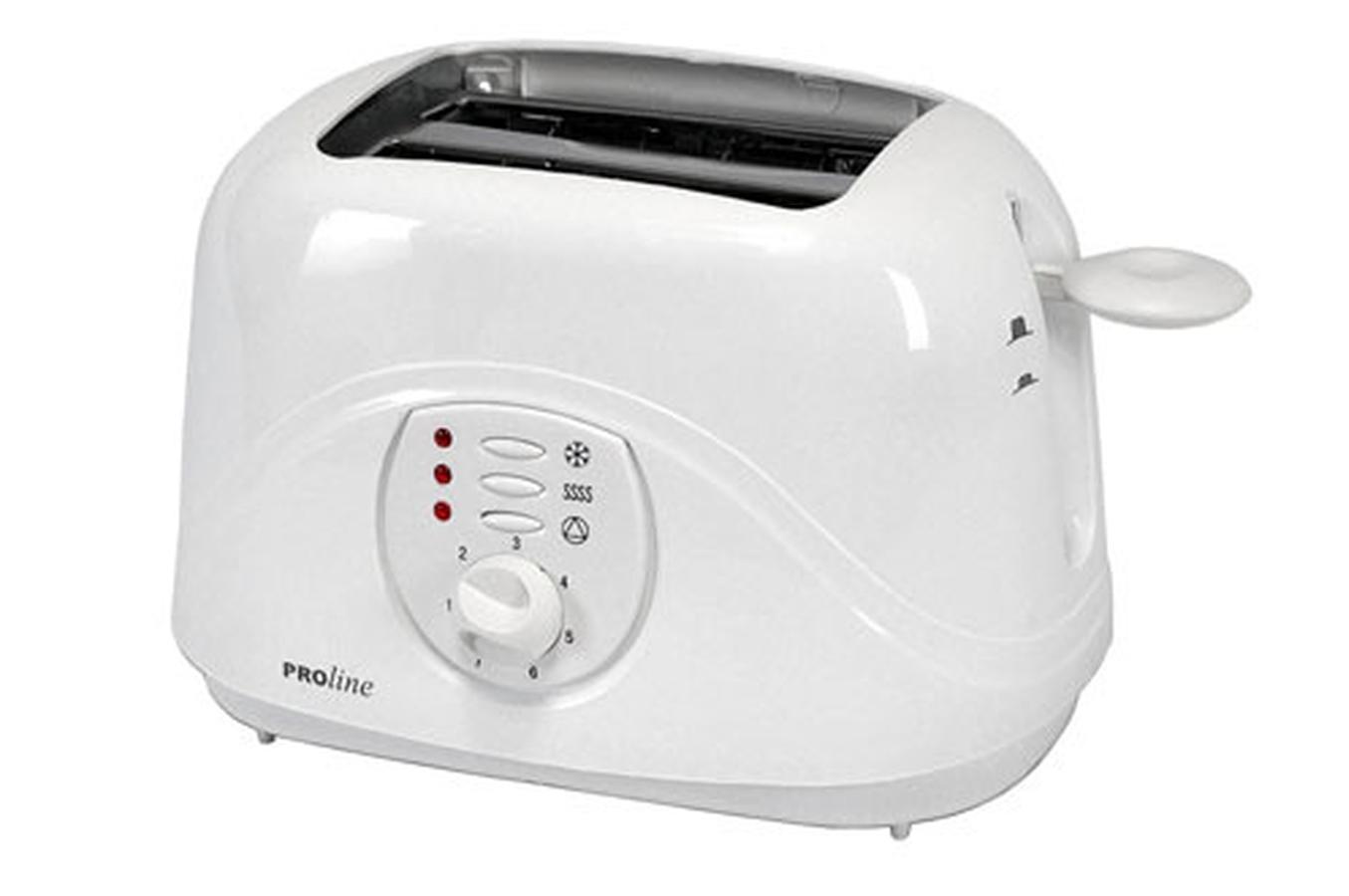 grille pain proline pt20 toaster pt20 1959018 darty. Black Bedroom Furniture Sets. Home Design Ideas