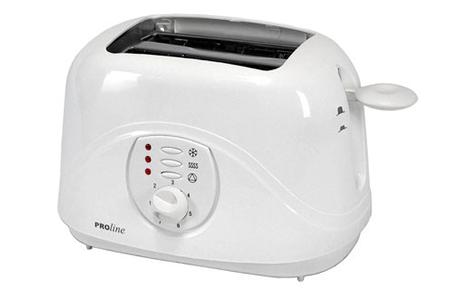 grille pain proline pt20 toaster pt20 darty. Black Bedroom Furniture Sets. Home Design Ideas