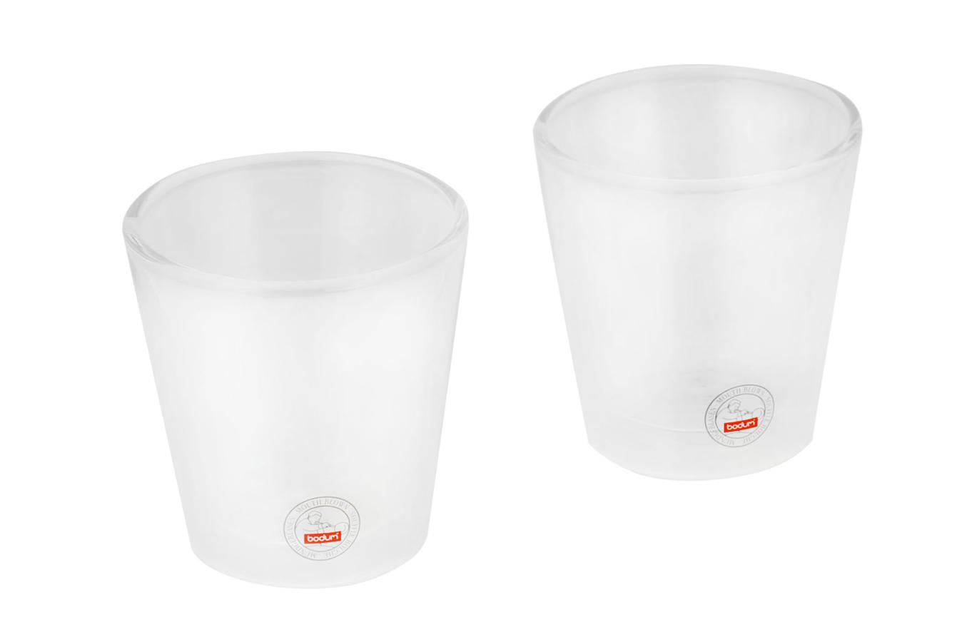 tasse bodum tasse verre 10 cl x2 1276379 darty. Black Bedroom Furniture Sets. Home Design Ideas
