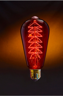 Ampoule vintage STAN RED Jurassic-light
