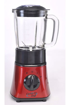 Blender B-2BR MINI BLENDER ROUGE Kitchen Chef