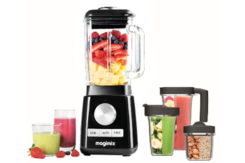 Blender Magimix 11634 Power Blender Premium Noir laqué
