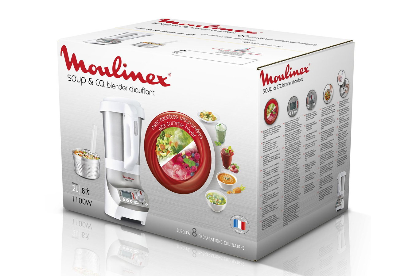Blender moulinex lm908110 soup co lm908110 soup co - Moulinex soupe and co ...