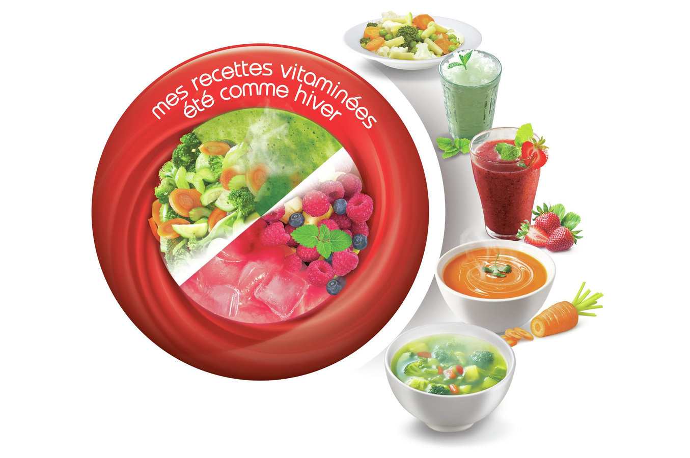 Blender moulinex lm908110 soup co lm908110 soup co 4266579 darty - Recette moulinex soup and co ...