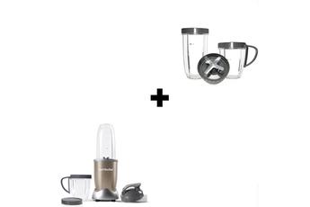 Blender Nutribullet NUTRI900 Champagne + KIT ACCESSOIRES NUTRI 900W