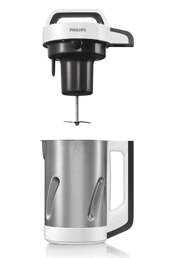 blender philips soup maker hr2201 80 darty. Black Bedroom Furniture Sets. Home Design Ideas