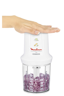 Hachoir moulinex dj300110 moulinette compact 4005694 darty for Moulinette cuisine