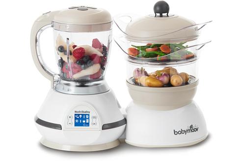 Mixeur cuiseur NUTRIBABY CREAM Babymoov