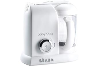 Mixeur cuiseur Beaba Babycook solo white/silver