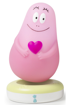 Veilleuse LUMILOVE-BARBAPAPA ROSE Pabobo
