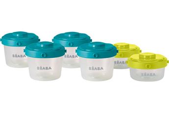 Accessoire repas 6 PORTIONS CLIP 1ER AGE Beaba