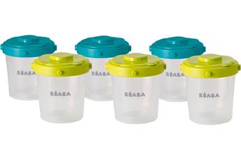 Accessoire repas 6 PORTIONS CLIP 2EME AGE Beaba