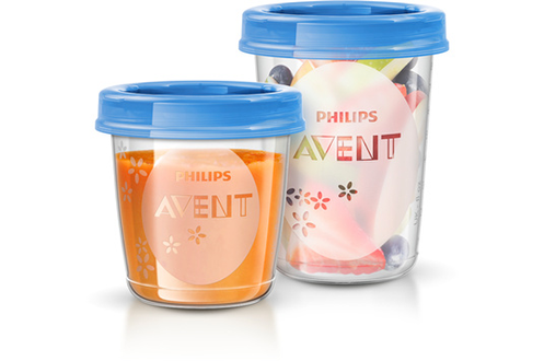 Accessoire repas Set 20 pots de conservation SCF721/20 Avent Philips