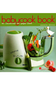 Livre de puériculture BABY COOK BOOK Editions Culinaires