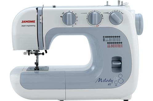 avis machine coudre janome melody 41 nous quipons la maison avec des machines. Black Bedroom Furniture Sets. Home Design Ideas