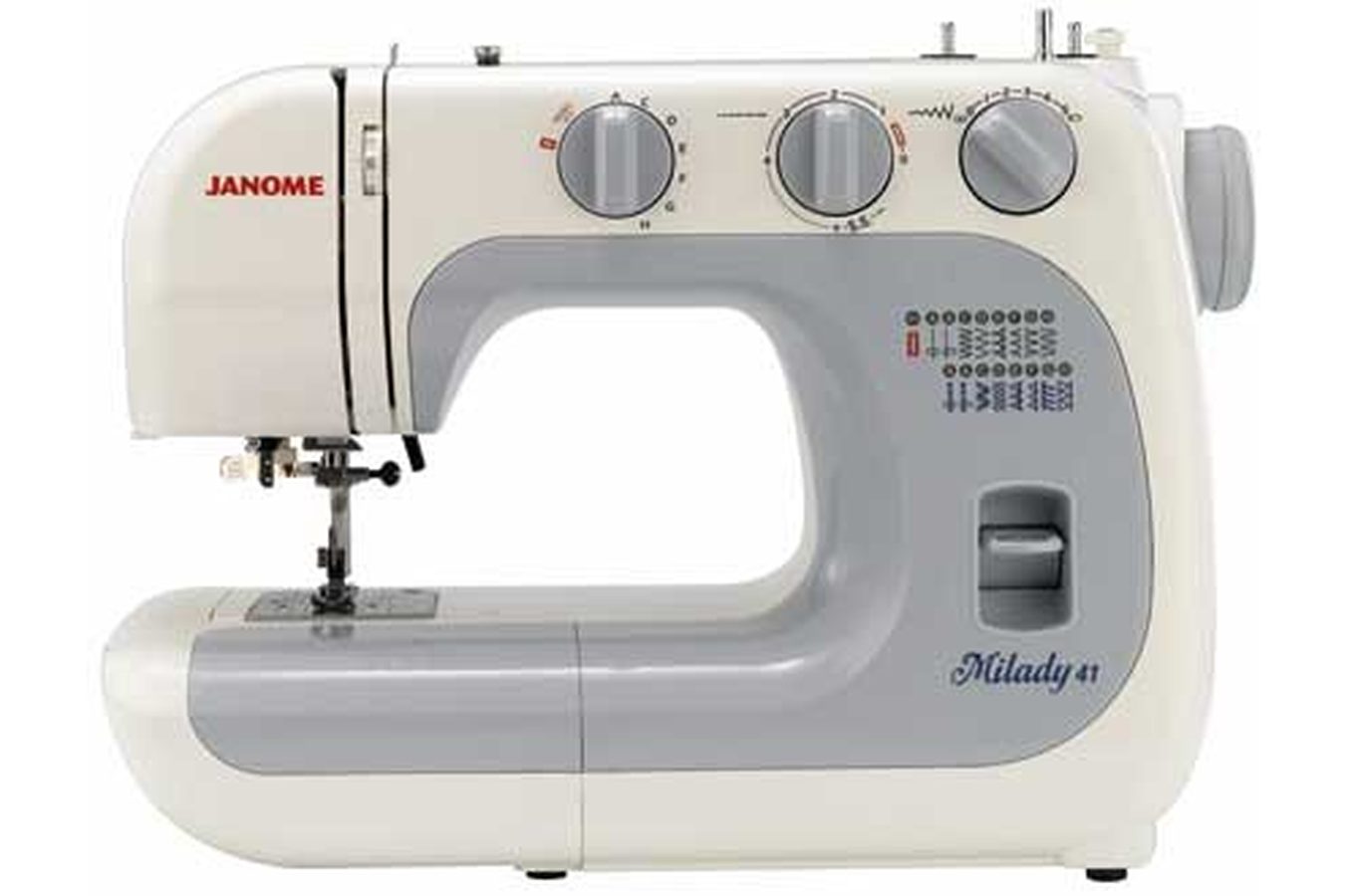 machine a coudre janome milady 41 3395375 darty