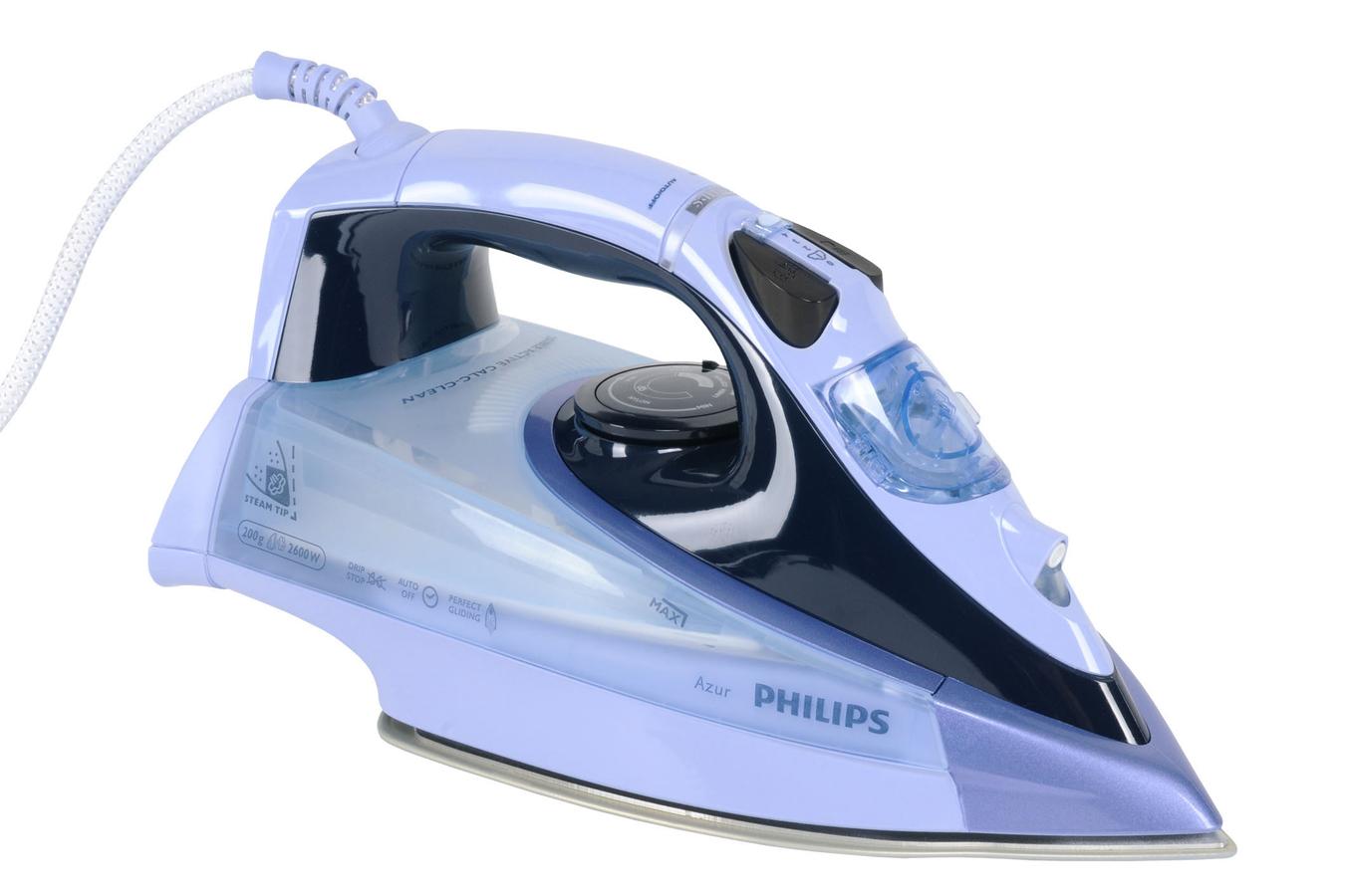 fer a repasser philips gc4860 02 azur 3655440 darty. Black Bedroom Furniture Sets. Home Design Ideas