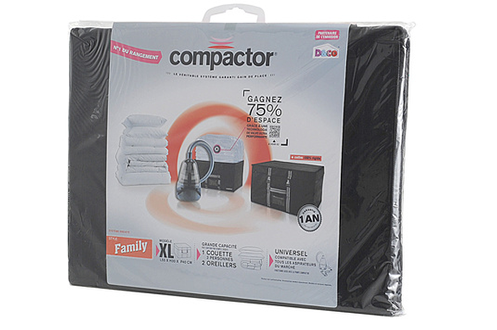 Housse de rangement compactor compactor coffre xl for Housse compactor avis