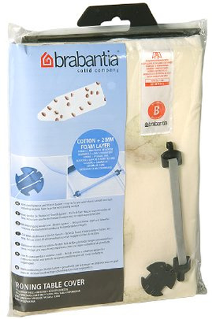 housse de table brabantia housse cotton tb darty. Black Bedroom Furniture Sets. Home Design Ideas