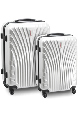 Neobag SET 2 VALISES RIGIDES GRISES
