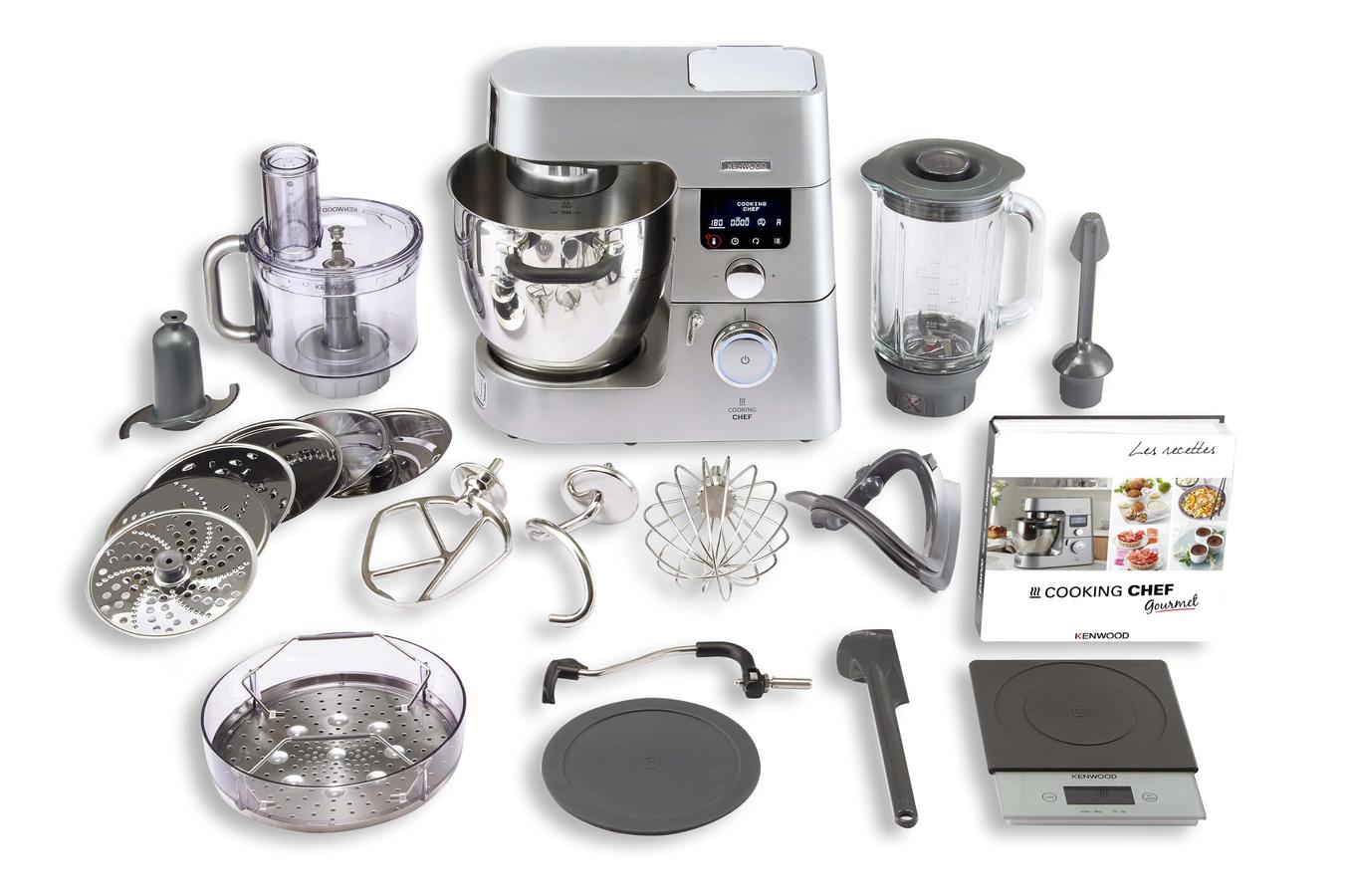 robot cuiseur kenwood cooking chef gourmet kcc9063s darty. Black Bedroom Furniture Sets. Home Design Ideas