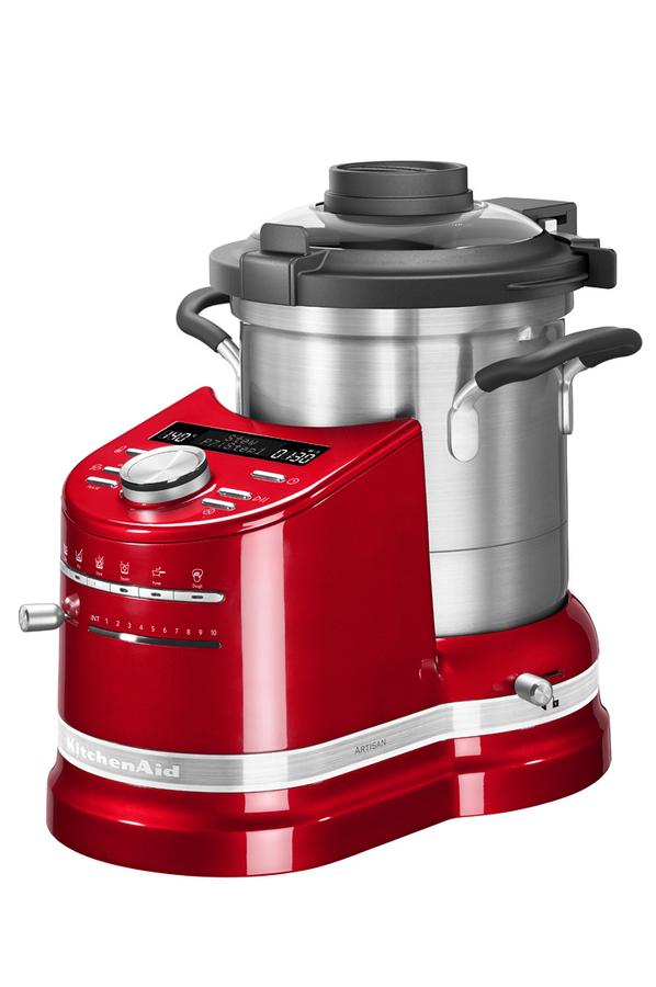 robot cuiseur kitchenaid cook processor 5kcf0103eer 5 rouge empire 4125436 darty. Black Bedroom Furniture Sets. Home Design Ideas