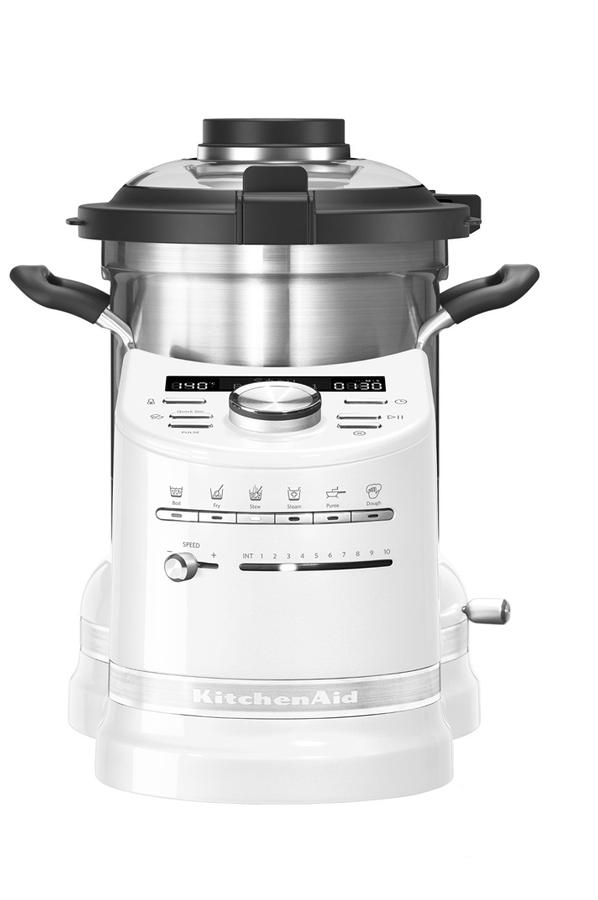 robot cuiseur kitchenaid cook processor 5kcf0103efp 5 blanc givre 4125380 darty. Black Bedroom Furniture Sets. Home Design Ideas
