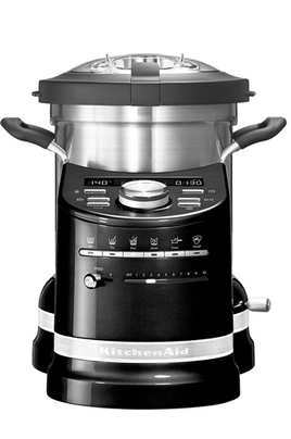 robot cuiseur kitchenaid 5kcf0103eob 5 artisan cook processor noir. Black Bedroom Furniture Sets. Home Design Ideas