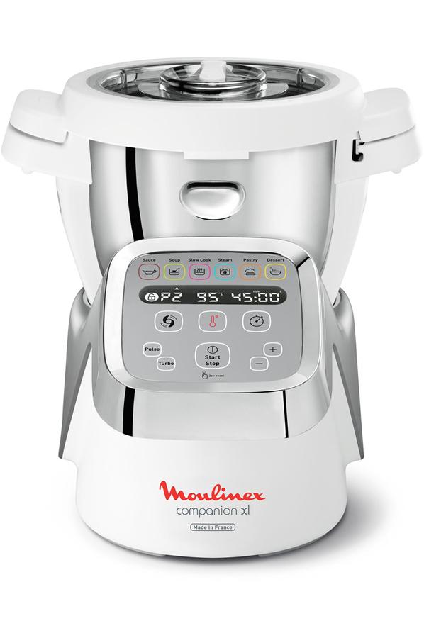 Robot cuiseur moulinex hf806e10 companion xl blanc hf806e10 companion xl 4 - Robot moulinex cuiseur ...