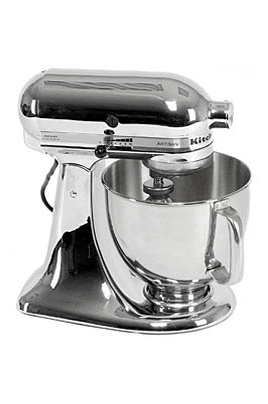 Robot patissier kitchenaid artisan chrome 5ksm150 psecr - Robot de cuisine kitchenaid ...