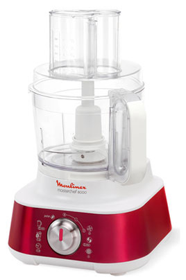 Moulinex MASTERCHEF 8000 ROUGE RUBIS FP659GB1