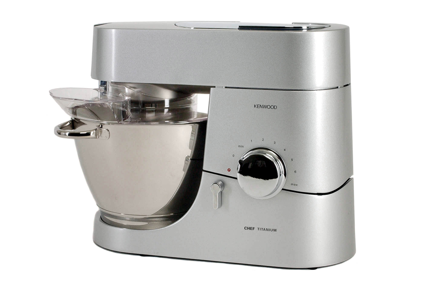 Robot patissier kenwood km011 chef titanium 2528037 darty for Robot de cuisine seb