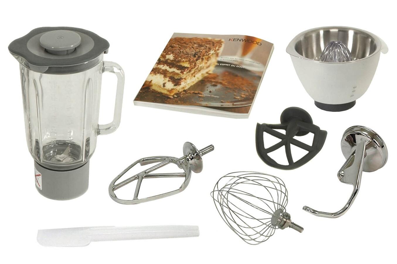 Robot patissier kenwood km021 major titanium 2528045 darty for Petit robot cuisine