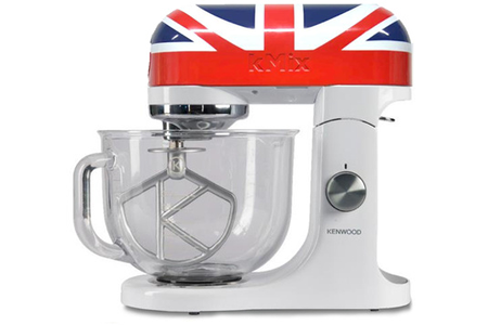 robot patissier kenwood kmix union jack darty. Black Bedroom Furniture Sets. Home Design Ideas