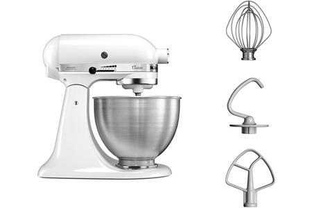 Photo de robot-kitchenaid-classic-blanc