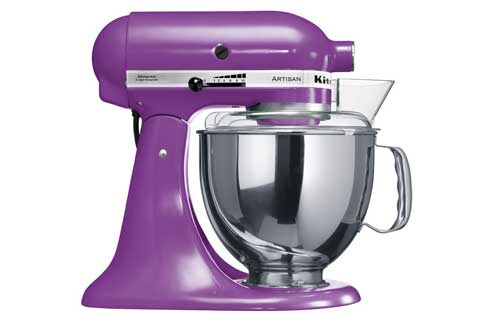 robot patissier kitchenaid 5ksm150 psegp violet 3259110 darty. Black Bedroom Furniture Sets. Home Design Ideas