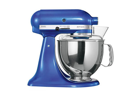 robot patissier kitchenaid 5ksm150pseeb bleu lectrique darty. Black Bedroom Furniture Sets. Home Design Ideas